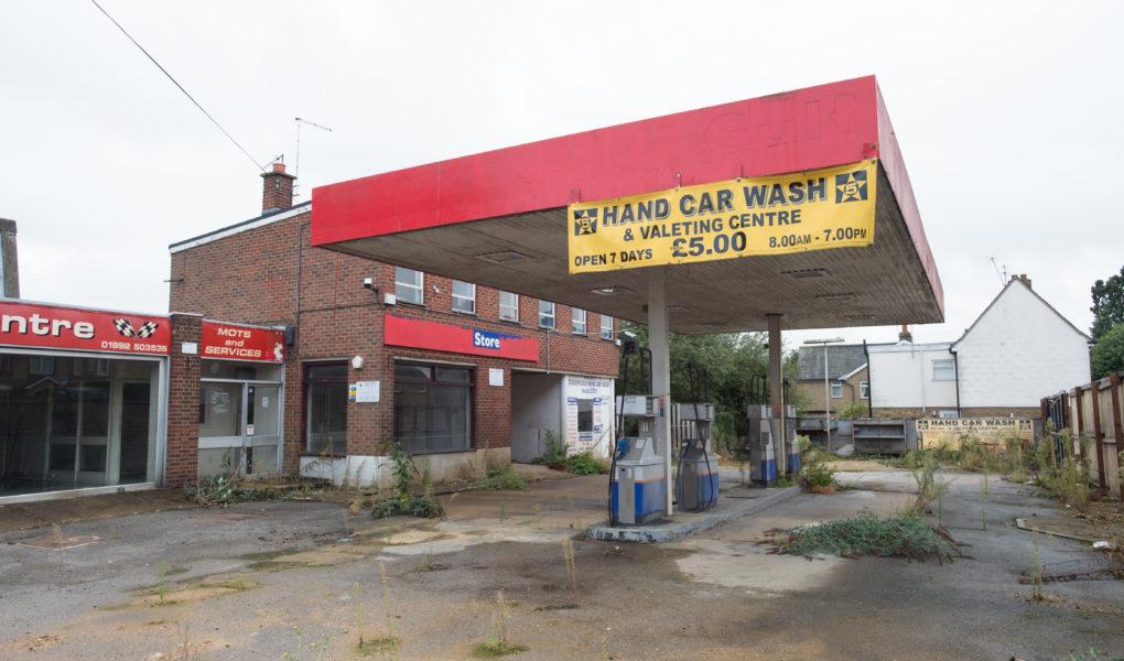 Petrol Station development Bengeo Hertfordshire