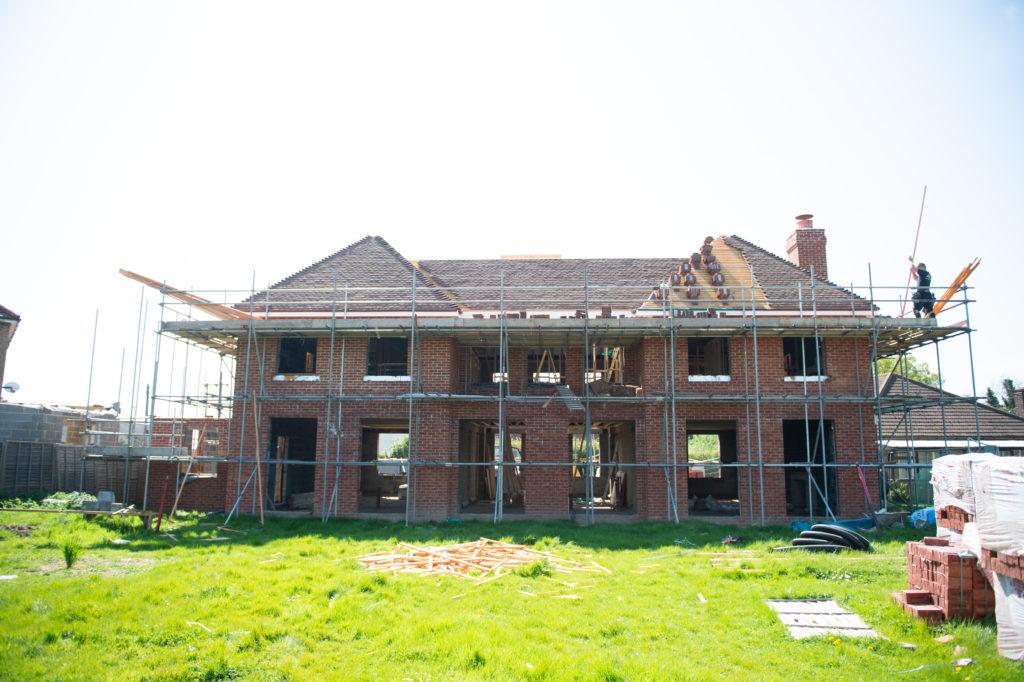 Luxury house build in roydon hertfordshire