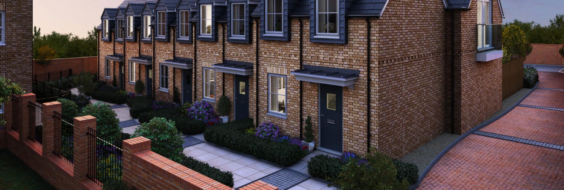 Ambassador Square Cheshunt Refurb into 4 apartments and 7 new homes