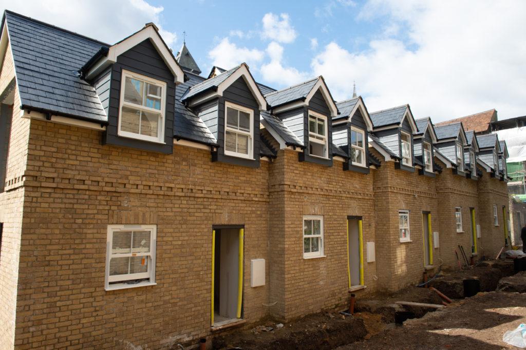New Build homes   Progress at Ambassador Square Cheshunt Herts