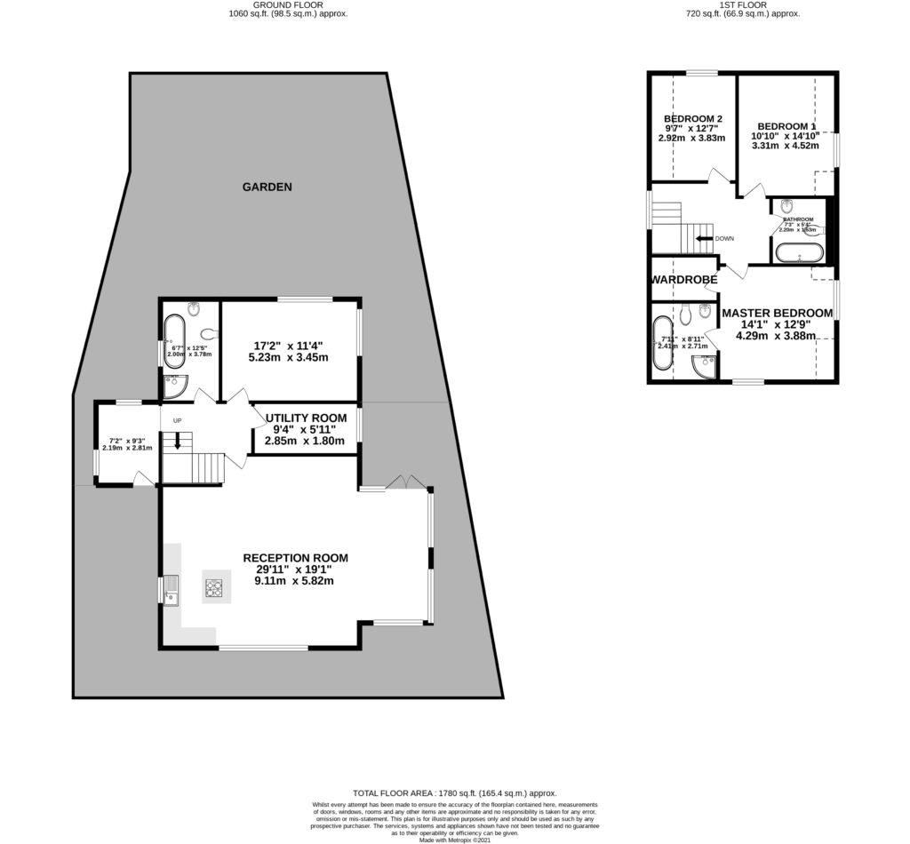 Floor Plan New Build Home 404 Goffs Lane Hertfordshire