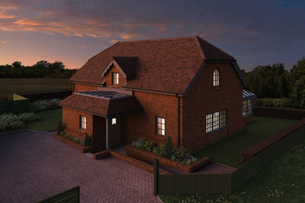 New Build Home 404 Goffs Lane Hertfordshire